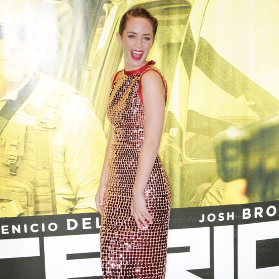 Emily Blunt Attends the Sicario Premiere in London