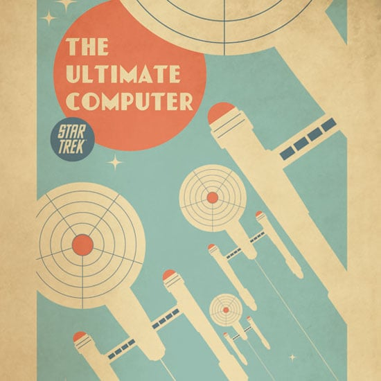 Limited-Edition Star Trek Prints Are a Modern Blast From the Past