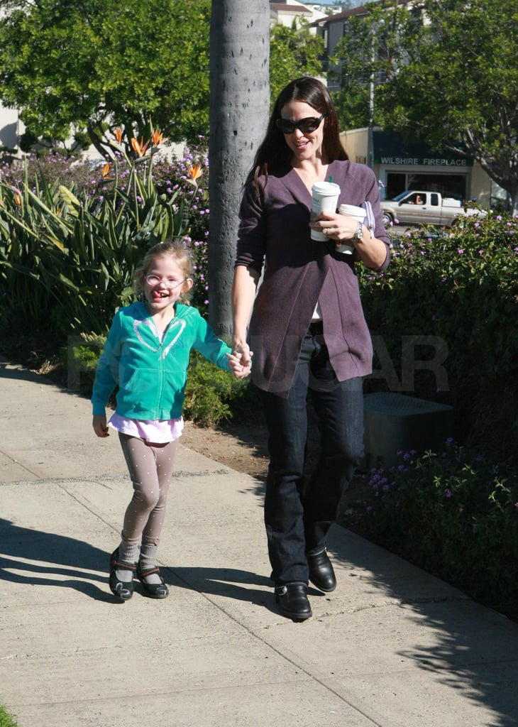 Jennifer and Ben Spend a Weekend in and out of Town With Violet
