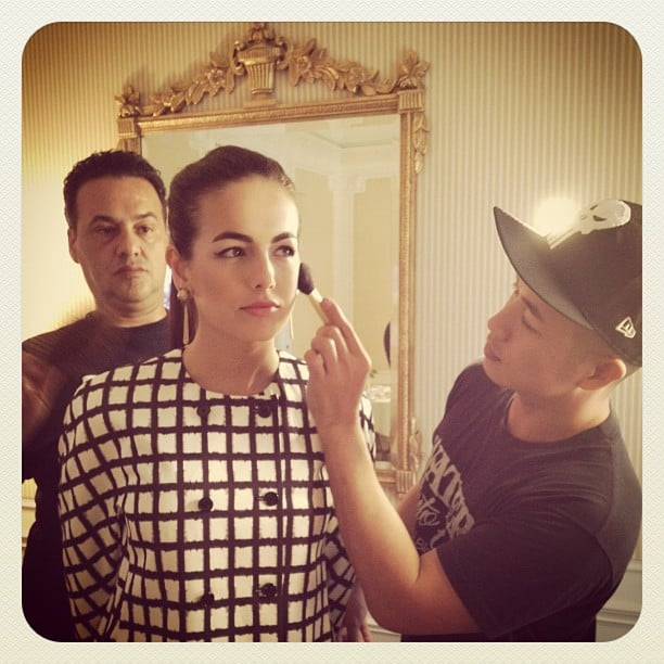 Camillla Belle had some help with her makeup.  Source: Instagram user camillabelle86