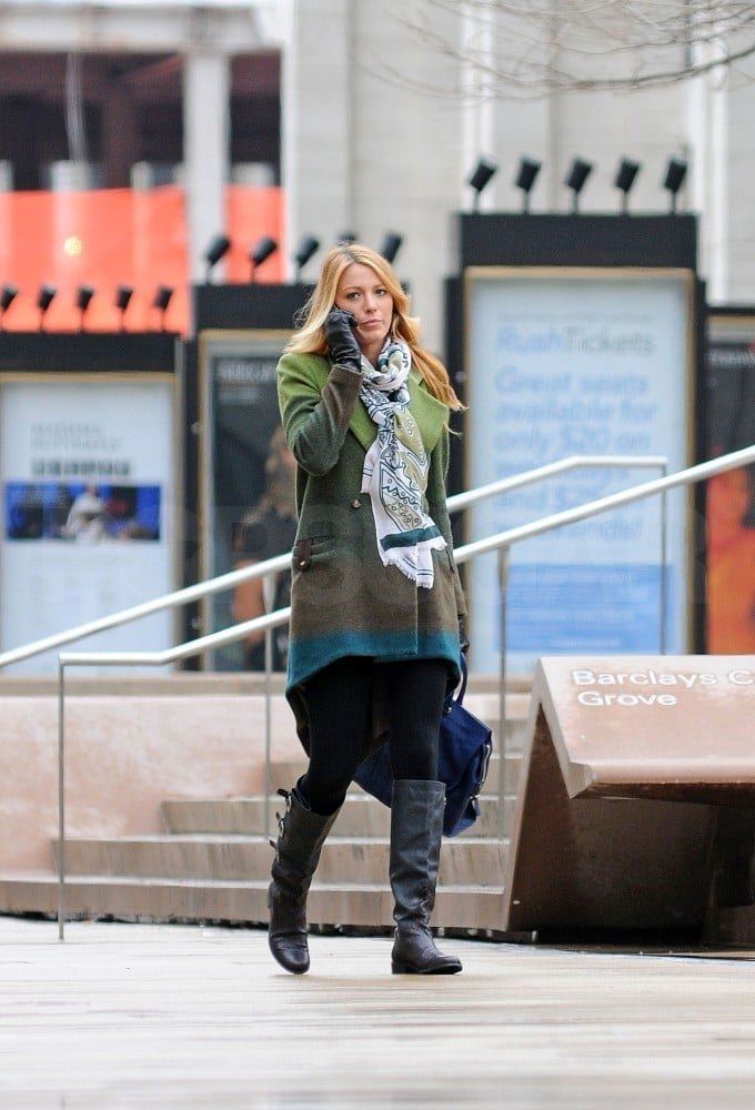 Blake Lively worked on Gossip Girl.