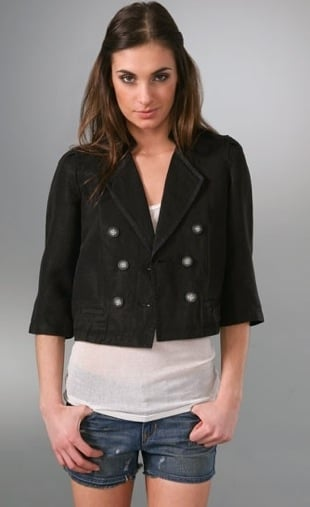 Fab Finger Discount: Generra Pintucked Swing Jacket