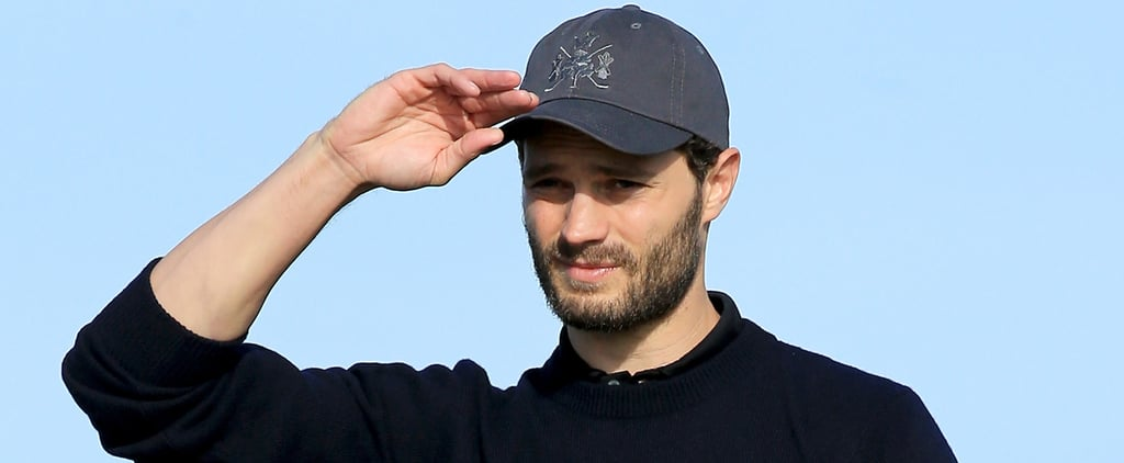 Jamie Dornan Looks Magazine-Spread Hot During His Day on the Golf Course