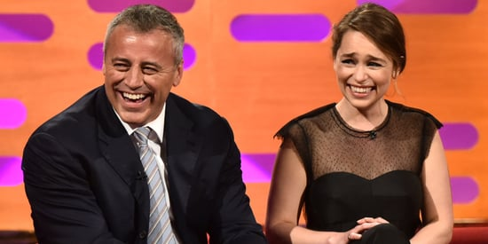 Emilia Clarke Loses It Over Matt LeBlanc's Signature Catchphrase
