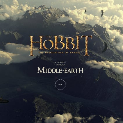 The Hobbit Google Chrome Experiment
