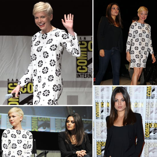 Michelle Williams and Mila Kunis Team Up to Talk Oz at Comic-Con