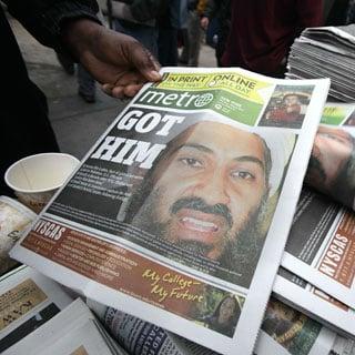 Osama bin Laden Twitter and Internet Traffic Spikes