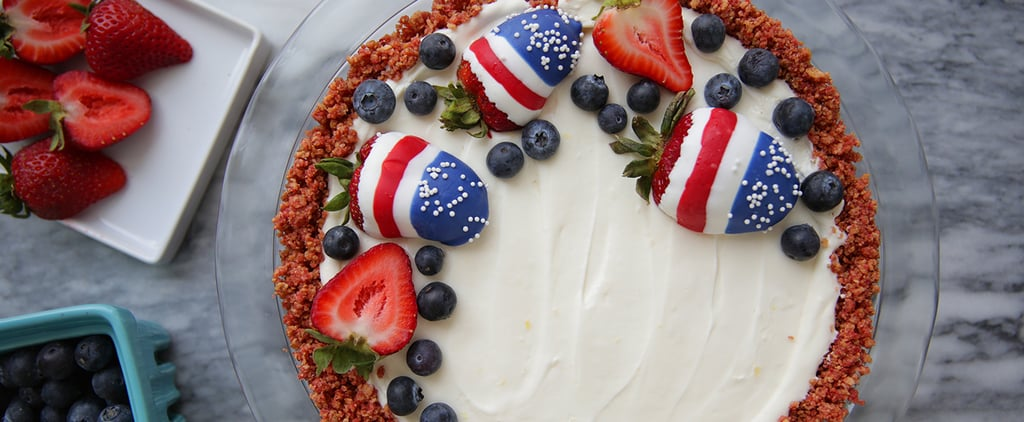 A Recipe Worth Doubling: This No-Bake Patriotic Cheesecake