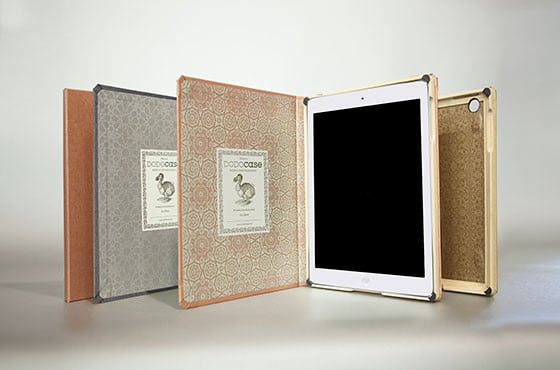 The iPad Air may not have come in our fantasy champagne gold, but you can give it the gilded touch with DODOcase's Metallics for iPad Air line ($85 each). Choose from Copper Chai, Golden Coriander, and Black Peppercorn for printed cases inspired by international travels.