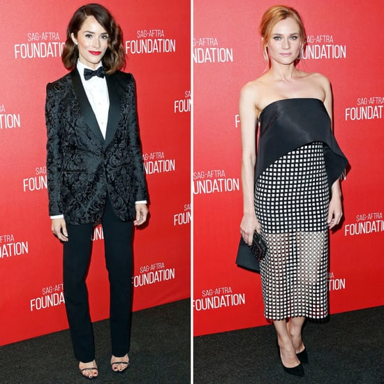 Diane Kruger And Abigail Spencer Make A Case For Black And White Dressing