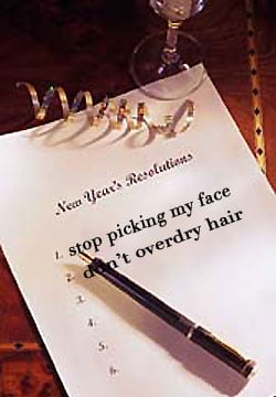 How's Your New Year's Beauty Resolution Going?