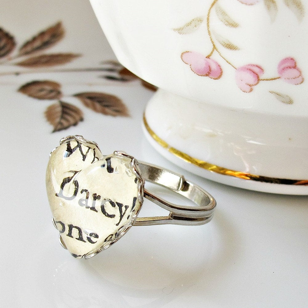 Book Page Rings