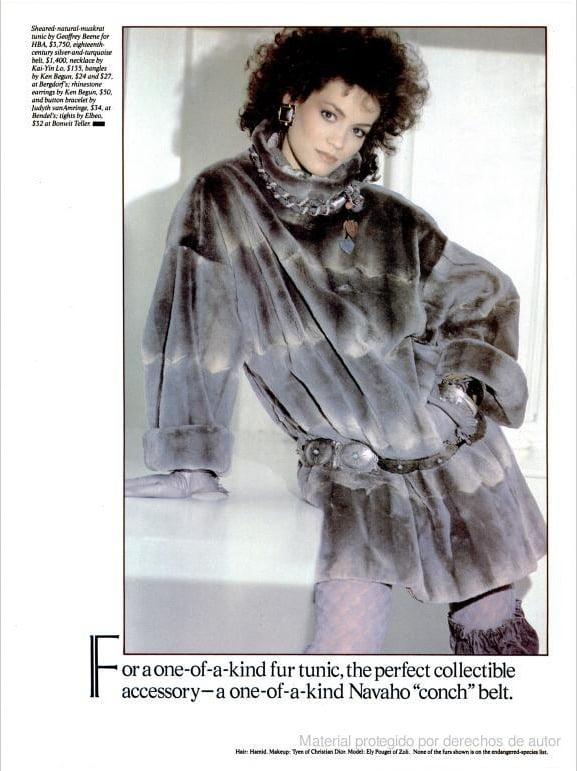 Sept. 1981: Furs For All Seasons