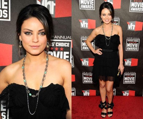 Mila Kunis at 2011 Critics' Choice Awards 2011-01-14 17:38:45