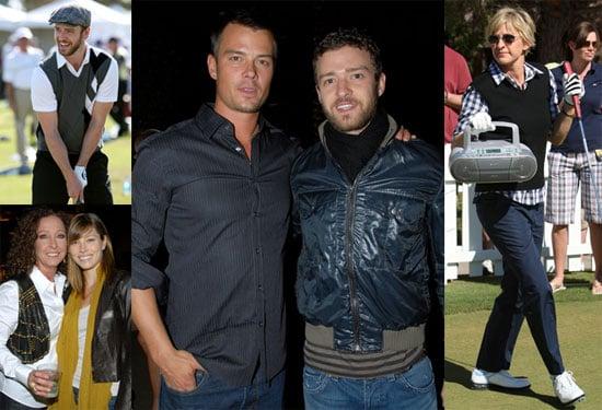 Photos of Justin Timberlake, Jessica Biel, Josh Duhamel at the Justin Timberlake Shriners Hospitals For Children Open