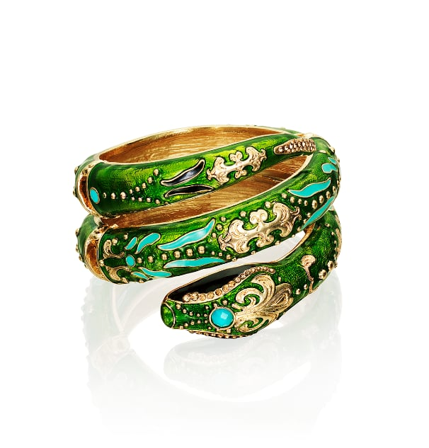 """Editors' Pick: This bangle just screams """"Anna Dello Russo,"""" and since we're totally inspired by her daring style, we're willing to try this one on."""