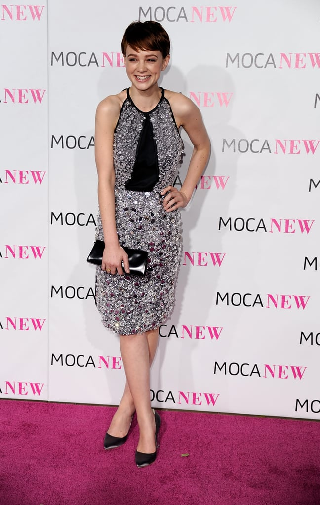 Carey Mulligan in Embellished Prada at the 2009 MOCA Anniversary Gala