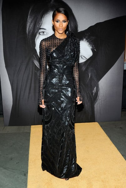 Ciara looked fiercer than ever in her Spring '10 Couture gown.