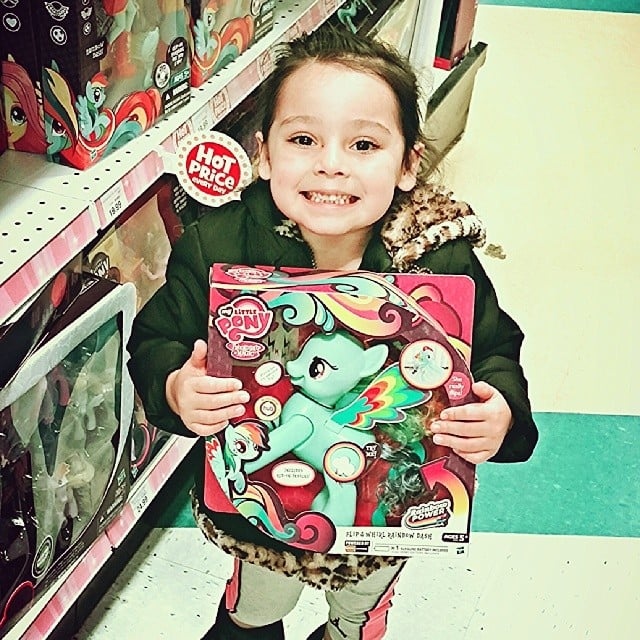 """When in any toy store, remember you're the one that's going to have to pick it up."" — Brigitta D.  Source: Instagram user vinhle_23"
