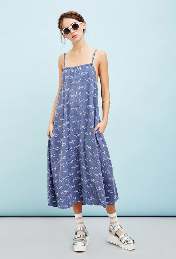 Forever 21 The Whitepepper Shark Cami Dress ($108)