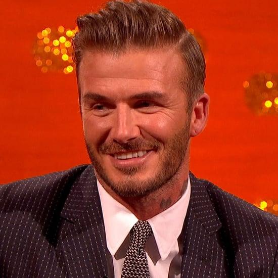 David Beckham Talking About His Son Brooklyn December 2015