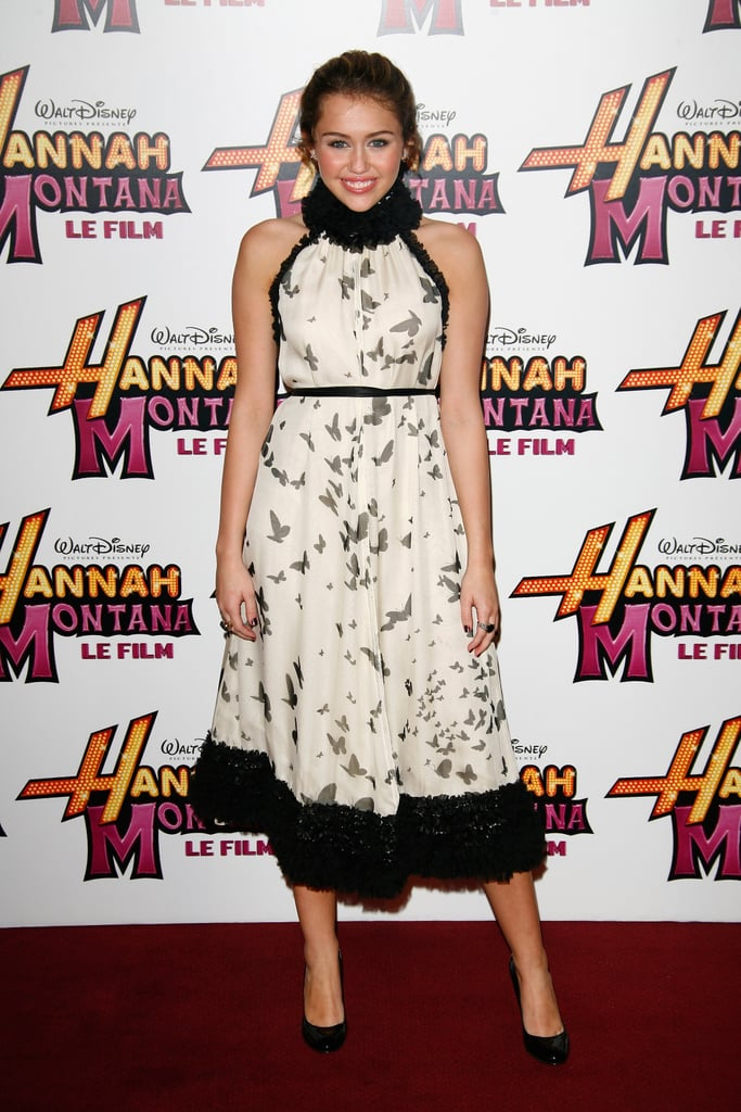 April 2009: Hannah Montana Premiere in Paris