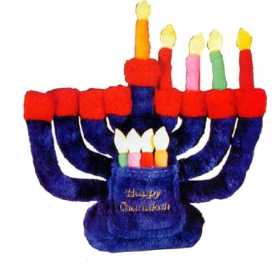 Plush Menorah