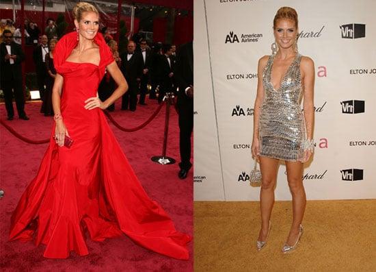 Heidi Klum Oscar Fashion