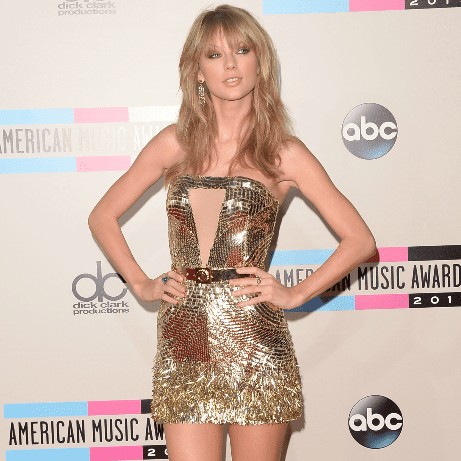 Taylor Swift Dress at American Music Awards 2013