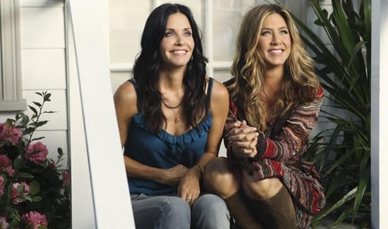Photos of Cougar Town Season Premiere With Jennifer Aniston and Courteney Cox Reunion