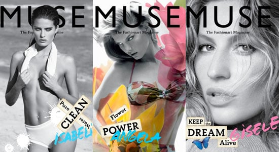Pictures of Gisele, Isabeli and Angela's Eco-Conscious Muse Covers 2010-06-09 09:00:22