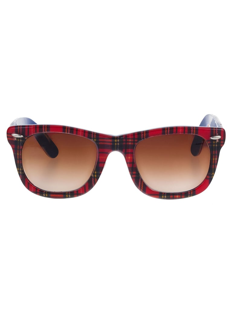 Can you imagine how fitting American Apparel's tartan shades ($45) will be come Fall?