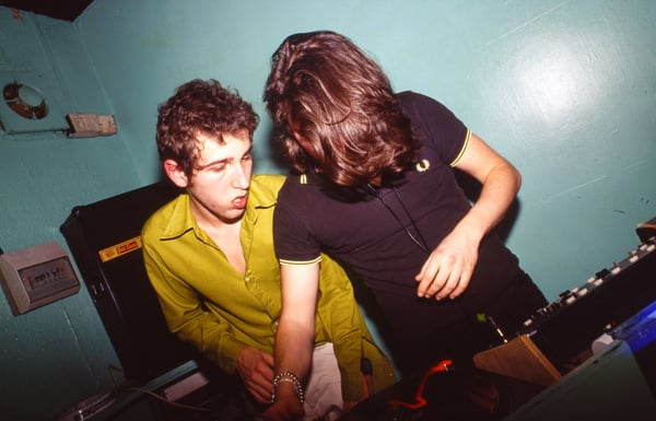 Their Real Names: Thomas Bangalter and Guy-Manuel de Homem-Christo
