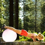 Quick Workout on an Exercise Ball to Tone Your Arms, Abs, and Tush
