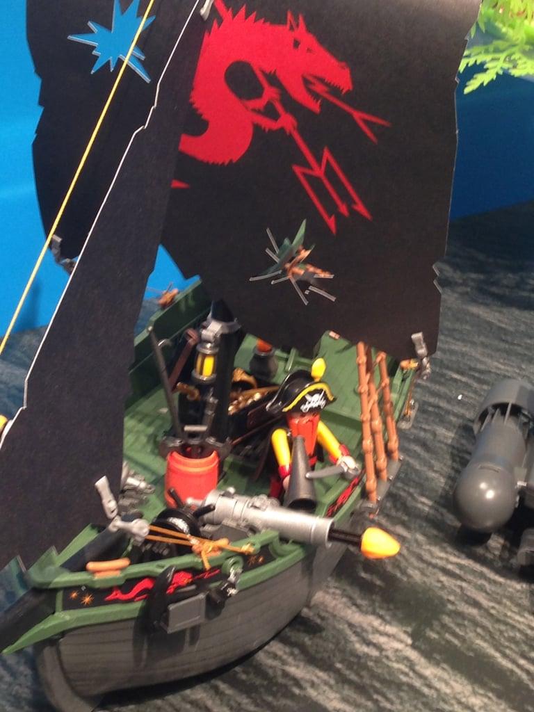Playmobil Remote-Control Pirate Ship