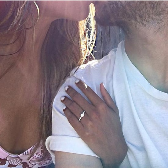 Fashion Blogger Sincerely Jules's Engagement Ring