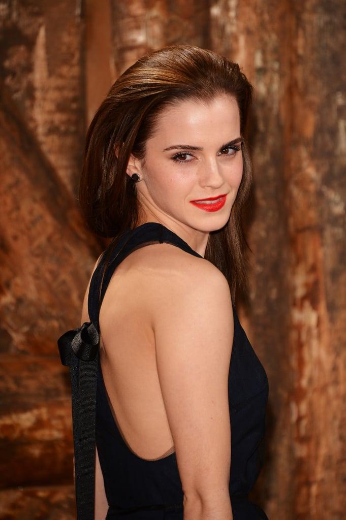 Emma Watson's Voluminous Style