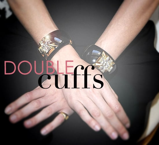 Spring Summer 2011 Accessories Trend: Double Cuff Bracelets