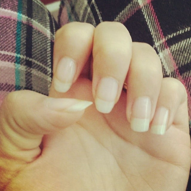 Prenatal-Vitamin Nails