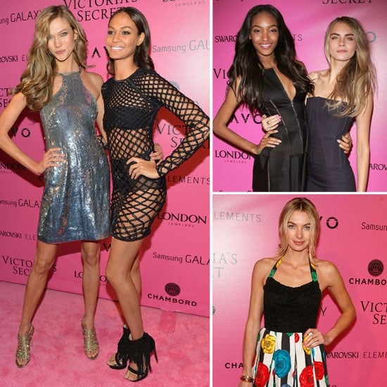 After Party Pictures at 2012 Victoria's Secret Fashion Show
