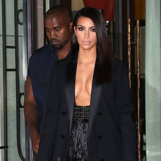 Kanye Is Flashing More Skin Than Kim . . . Seriously!