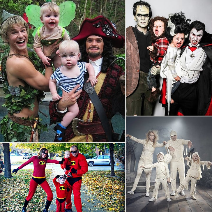 The Family That Dresses Up Together, Stays Together: 36 Family Costume Ideas