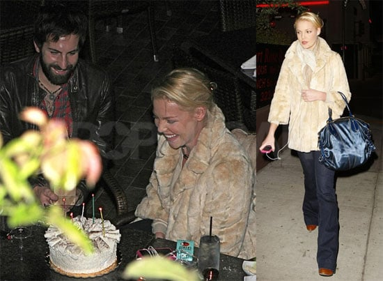 Photos of Katherine Heigl, Josh Kelley at Desert Rose in LA