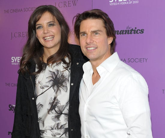 Slide Picture of Tom Cruise and Katie Holmes at The Romantics Screening