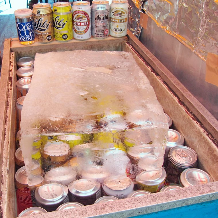 If possible, pack block ice in your cooler.