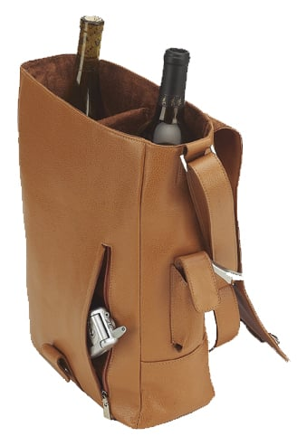 Two-Bottle Wine Tote