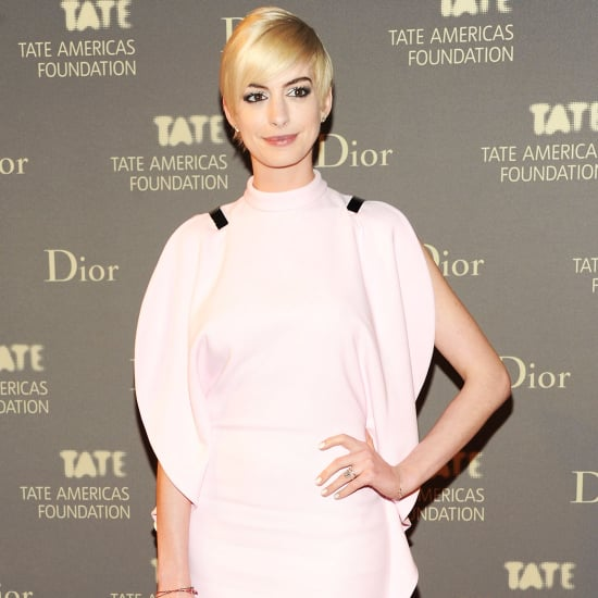 Anne Hathaway at Tate Dinner NYC   Pictures
