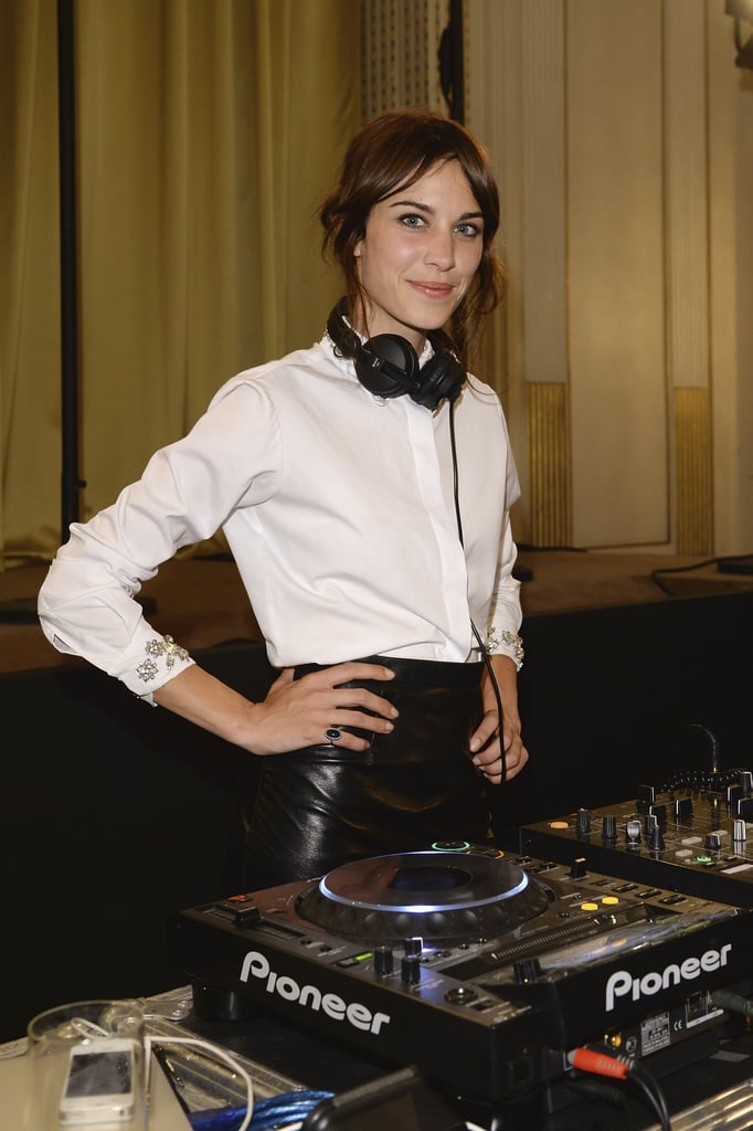 Alexa Chung at the unveiling of the Bulgari Diva fine jewelry collection in Paris.  Photo courtesy of Bulgari