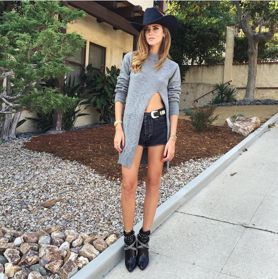 High-Low Cutout Top Trend