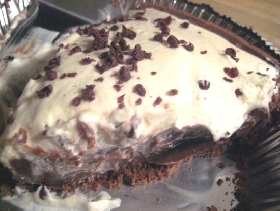 Theirs vs. Mine: Chocolate Caramel Cream Pie